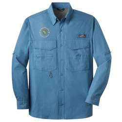 EB606 - L114E024/L114E019 - EMB - Long Sleeve Fishing Shirt