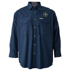 FSLS - L114E024/L114E019 - EMB - Long Sleeve Field Shirt